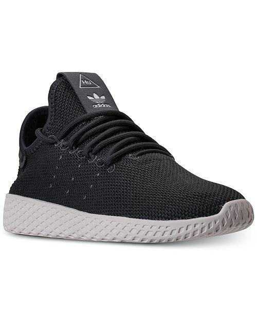 9ce9be370 ... adidas Big Boys  Originals Pharrell Williams Tennis HU Casual Sneakers  from Finish ...