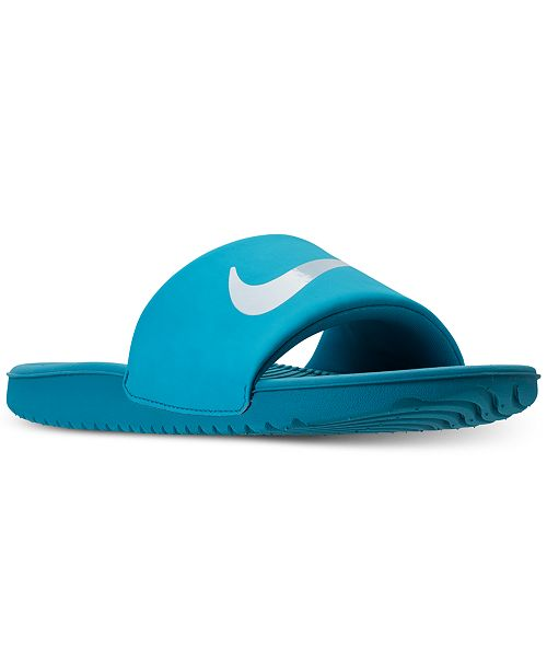 brand new a4637 23962 ... Nike Big Girls  Kawa Slide Sandals from Finish Line ...