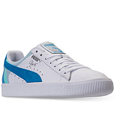 Puma x Pink Dolphin Men's Clyde Casual Sneakers from Finish Line