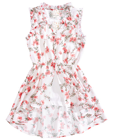 Belle Du Jour 2-Pc. Floral-Print Sleeveless Top & Camisole Set, Big Girls