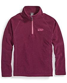 EMS® Girls' Classic Microfleece 1/4-Zip Sweater