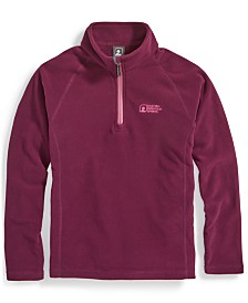 EMS® Girls' Classic Microfleece 1/4-Zip Sweater