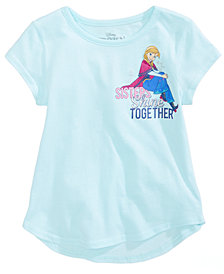 Disney's® Frozen Sisters Shine Cotton T-Shirt, Little Girls