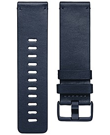 Versa™ Midnight Blue Horween Leather Accessory Band