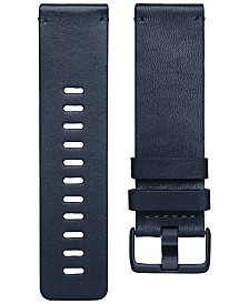 Fitbit Versa™ Midnight Blue Horween Leather Accessory Band
