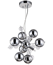 "Zeev Lighting Proton 55"" 6-Light Pendant"