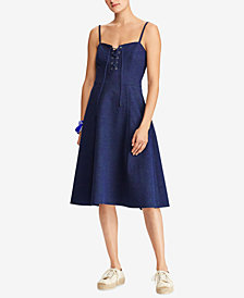 Polo Ralph Lauren Lace-Up Dress