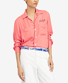 Polo Ralph Lauren Embroidered Twill Shirt