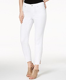 Crochet Ankle Skinny Jeans, Created for Macy's