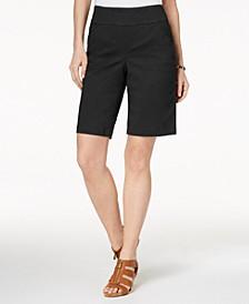 Comfort-Waist Bermuda Shorts, Created for Macy's