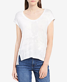 Calvin Klein Jeans Printed High-Low T-Shirt