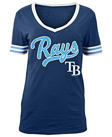 Women's Tampa Bay Rays Retro V-Neck T-Shirt