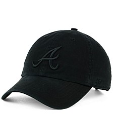 Atlanta Braves Black on Black CLEAN UP Cap