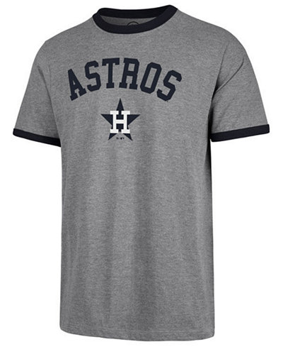 '47 Brand Men's Houston Astros Capital Ringer T-Shirt
