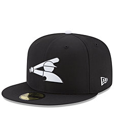 New Era Boys' Chicago White Sox Batting Practice Prolight 59FIFTY FITTED Cap