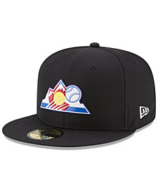 New Era Boys' Colorado Rockies Batting Practice Prolight 59FIFTY FITTED Cap