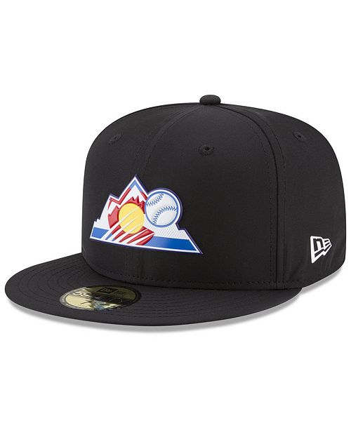sneakers for cheap 5ac54 23f2d ... New Era Boys  Colorado Rockies Batting Practice Prolight 59FIFTY FITTED  ...