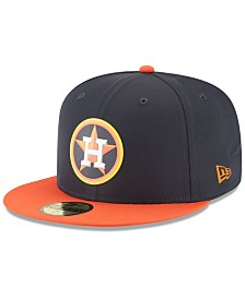 New Era Boys' Houston Astros Batting Practice Prolight 59FIFTY FITTED Cap