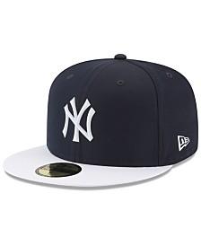 New Era Boys' New York Yankees Batting Practice Prolight 59FIFTY FITTED Cap