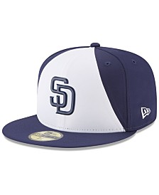 New Era Boys' San Diego Padres Batting Practice Prolight 59FIFTY FITTED Cap