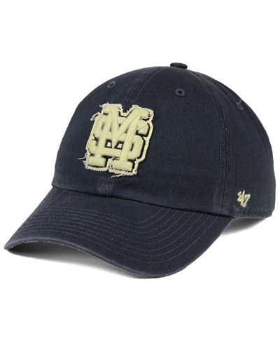 '47 Brand Mississippi State Bulldogs Double Out CLEAN UP Cap