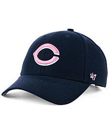 '47 Brand Cincinnati Reds Navy Pink MVP Cap