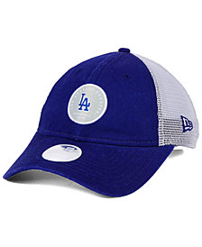 New Era Women's Los Angeles Dodgers Washed Trucker 9TWENTY Cap