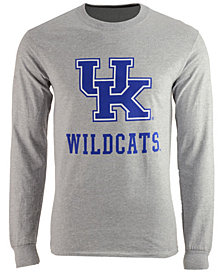 J America Men s Kentucky Wildcats Interlock Long Sleeve T-Shirt 2f3c04707