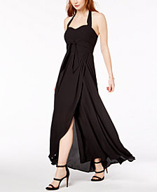 Bar III Halter Maxi Dress, Created for Macy's