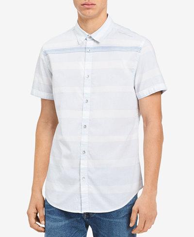 Calvin Klein Jeans Men's Striped Shirt