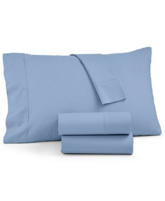 York NuPercale 4-Pc Queen Sheet Set, 600 Thread Count Created for Macy's