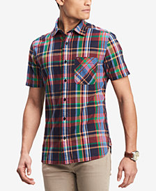 Tommy Hilfiger Men's Toby Plaid Shirt, Created for Macy's