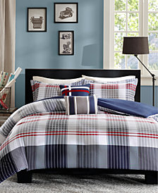 Intelligent Design Caleb 4-Pc. Twin/Twin XL Duvet Cover Set
