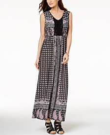 Crocheted Maxi Dress, Created for Macy's