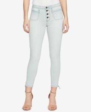 William Rast High-Waisted Skinny Jeans