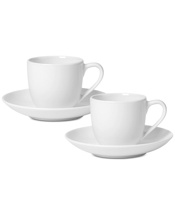 Villeroy & Boch - For Me Collection Espresso Cup & Saucer, Set of 2