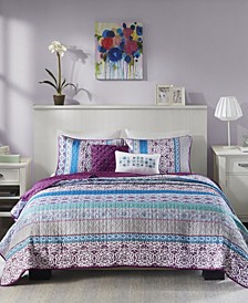 Joni 4-Pc. Twin/Twin XL Coverlet Set