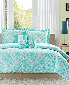 Intelligent Design Laurent 4-Pc. Twin/Twin XL Duvet Cover Set