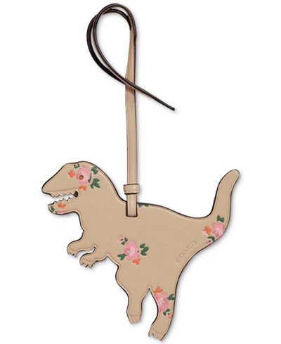 COACH Boxed Printed Rexy Ornament