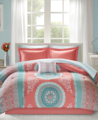 Loretta 7-Pc. Twin Comforter Set