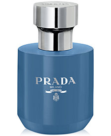 Receive a Complimentary Shower Gel with any large spray purchase from the Prada L'Homme fragrance collection