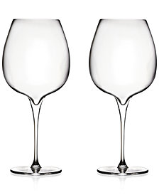 Nambé Vie Pinot Noir Glasses, Set of 2