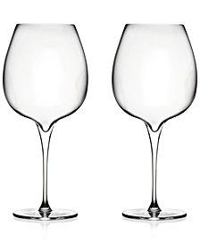 Nambé Vie Pinot Noir Glasses, Set of 2