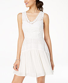 City Studios Juniors' Eyelet Dress