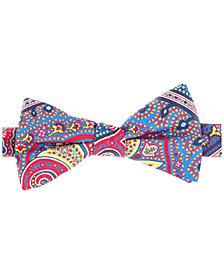 Tommy Hilfiger Men's Tropic Paisley Pre-Tied Silk Bow Tie