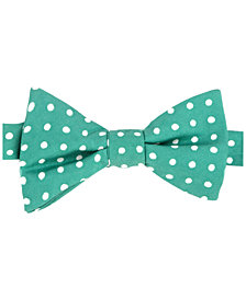 Tommy Hilfiger Men's Printed Dot Pre-Tied Silk Bow Tie