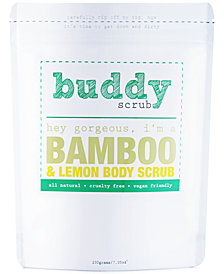 Buddy Scrub Bamboo & Lemon Body Scrub, 7-oz.
