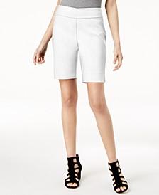 INC Curvy-Fit Stud-Trim Bermuda Shorts, Created for Macy's
