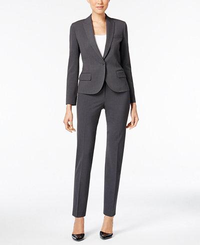 Anne Klein One-Button Blazer & Skinny Pants