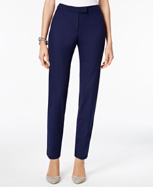 Anne Klein Straight Leg Pants